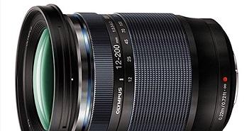 Olympus ra mắt ống kính siêu zoom 12-200mm F3.5-6.3 giá 900 USD