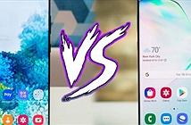 """So sánh nhanh hai người khổng lồ"""" Galaxy S20 Ultra và Galaxy Note 10+"""