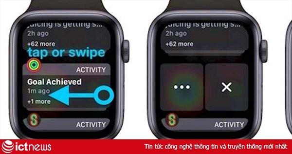 Hướng dẫn lọc thông báo trên Apple Watch