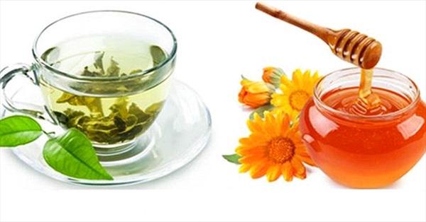 7 lý do bạn nên uống trà xanh pha mật ong hằng ngày