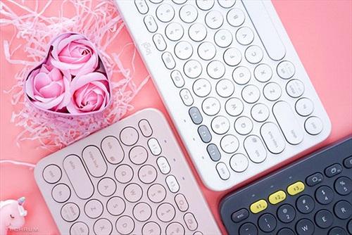 Logitech-K380 Multi-Device Bluetooth có thêm 2 màu mới màu mới cho phái nữ