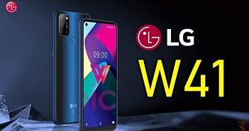 LG W41 xuất hiện với màn hình đục lỗ và cụm bốn camera