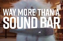 Polk Soundbar REACT mới, giá bình dân, có Alexa, tùy chọn thêm sub và loa vệ tinh