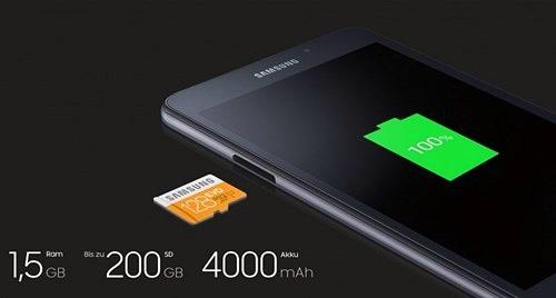 Samsung lặng lẽ ra mắt Galaxy Tab A 2016