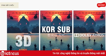 """Giá vé phim """"Kong: Skull Island"""" ở Lotte rẻ hơn bao nhiêu?"""