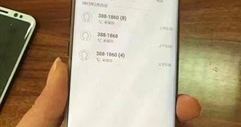 Galaxy S8+ bản Gold lộ ảnh thực tế