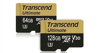 Transcend ra mắt thẻ nhớ microSD Ultimate tối ưu cho 4K