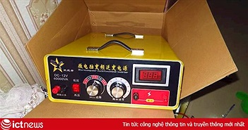 Sendo.vn công khai rao bán và hướng dẫn chi tiết cách diệt cá bằng máy kích điện Trung Quốc