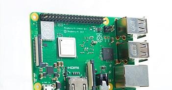 Raspberry Pi 3 nâng cấp với vi xử lý mạnh hơn