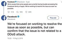 Facebook nói gì về sự cố ngừng hoạt động trên toàn cầu?