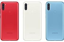 Samsung lặng lẽ giới thiệu Galaxy A11 với màn hình đục lỗ