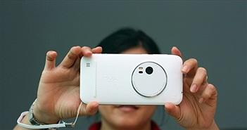 Mở hộp Asus Zenfone Zoom chuyên chụp ảnh, giá 13,5 triệu đồng