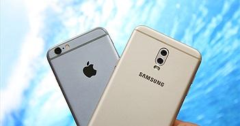 """Samsung Galaxy J7+ thắng áp đảo """"trung niên"""" iPhone 6 trong bài đọ camera giấu mặt"""