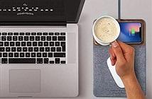 Bàn di chuột có khả năng sạc điện thoại không dây Takieso MousePad+