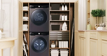 Máy giặt thông minh Samsung AI thế hệ mới ra mắt gia đình Việt giá từ 15,5 triệu