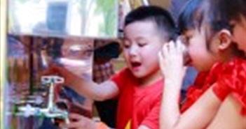 Samsung Việt Nam tặng hệ thống lọc nước cho 10 trường mầm non tại Bắc Ninh và Thái Nguyên