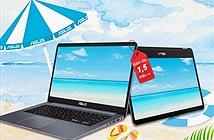 Asus giảm giá sốc laptop chào hè 2018