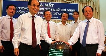 Khai trương Trang Thông tin TP.HCM trên chinhphu.vn