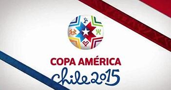 Lịch phát sóng giải bóng đá Copa America 2015 Chile trên SCTV