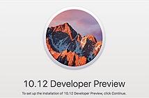 Mời tải về macOS 10.12 Sierra bản beta