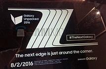 [Galaxy Note 7]  ra mắt ngày 2/8 tại Mỹ