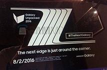 [Galaxy Note 7]  sẽ trình làng ngày 2/8