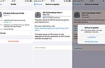 iOS 10 beta đã cho tải về, hỗ trợ từ iPhone 5