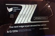[Galaxy Note 7]  sẽ ra mắt hoành tráng vào 2/8
