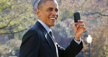 Tổng thống Mỹ Obama đã được dùng smartphone