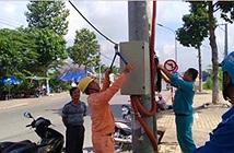 """An Giang: Ra quân dẹp """"mạng nhện"""" cáp viễn thông năm 2017"""