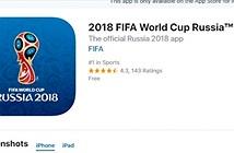10 ứng dụng miễn phí tốt nhất xem World Cup 2018 trên điện thoại iPhone và Android