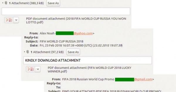 Fan bóng đá bị lừa phải trả gấp 10 lần cho vé xem FIFA World Cup 2018