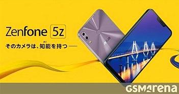 Asus Zenfone 5z bán ra ngày 15/6: chip Snapdragon 845, giá 562 USD