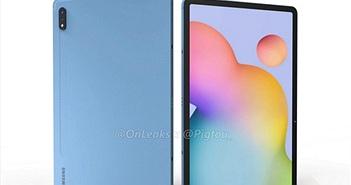 Hình ảnh render của Galaxy Tab S7, địch thủ sắp tới của iPad Pro