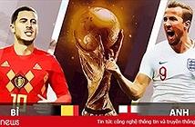Danh sách, đội hình ra sân của đội tuyển Bỉ trong trận Bỉ vs Anh tối nay 14/7