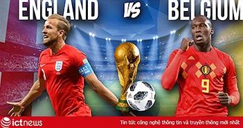 """Nhận định Bỉ vs Anh: Cuộc đua của """"Vua phá lưới"""""""