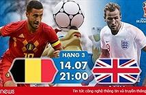 Thông tin mới nhất về đội tuyển Anh trước trận Anh vs Bỉ tối nay 14/7