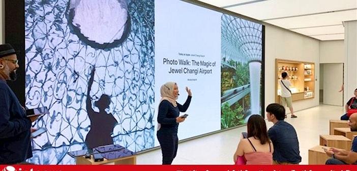 Apple chính thức khai trương Apple Store Changi, nhân viên nói được nhiều ngoại ngữ