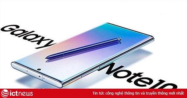 Galaxy Note10+ tiếp tục lộ ảnh đồ họa