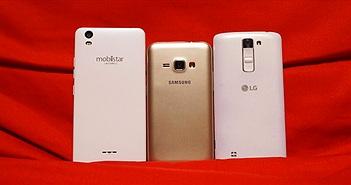 [Video] Thử nghiệm tốc độ chạy ứng dụng Samsung Galaxy J1 2016, Mobiistar Zumbo J và LG K7
