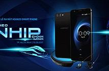 Smartphone Asanzo ra mắt ngày 15/8
