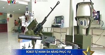 Cận cảnh robot chiến đấu do Việt Nam chế tạo