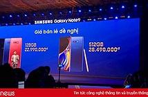 Hình ảnh buổi ra mắt Note 9 ấn tượng của Samsung tại Việt Nam