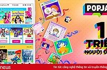 Mạng xã hội an toàn cho trẻ em PopJam cán mốc hơn 1 triệu người dùng