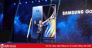 Samsung giới thiệu Galaxy Note 9 tại Việt Nam, giá thấp nhất 22,9 triệu đồng, đặt hàng từ ngày mai