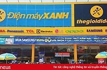 """Số lượng cửa hàng Thegioididong.com sẽ giảm để về """"chung nhà"""" với Điện máy Xanh"""