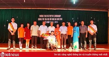 Trường M.V Lômônôxốp phát động nhắn tin ủng hộ nạn nhân chất độc da cam