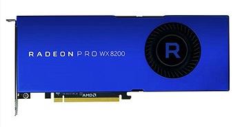 AMD ra mắt card đồ họa Radeon Pro WX 8200: 10,8 teraflops, 8GB RAM với giá 999 USD