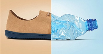 Công ty Anh chế giày cao cấp từ vỏ chai nhựa tái chế