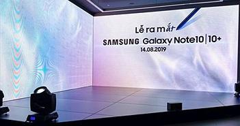 Galaxy Note 10/Note 10+ ra mắt thị trường Việt giá từ 23 triệu